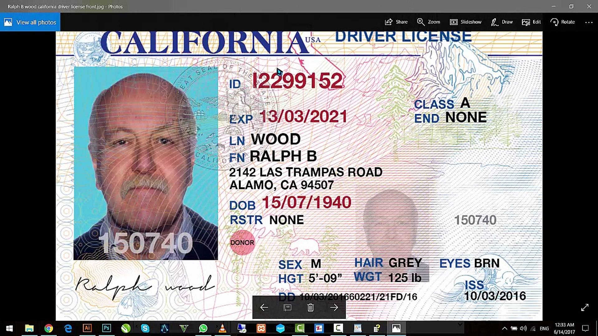 Edit N Driver License Id Cards Passports Ssn Cards In