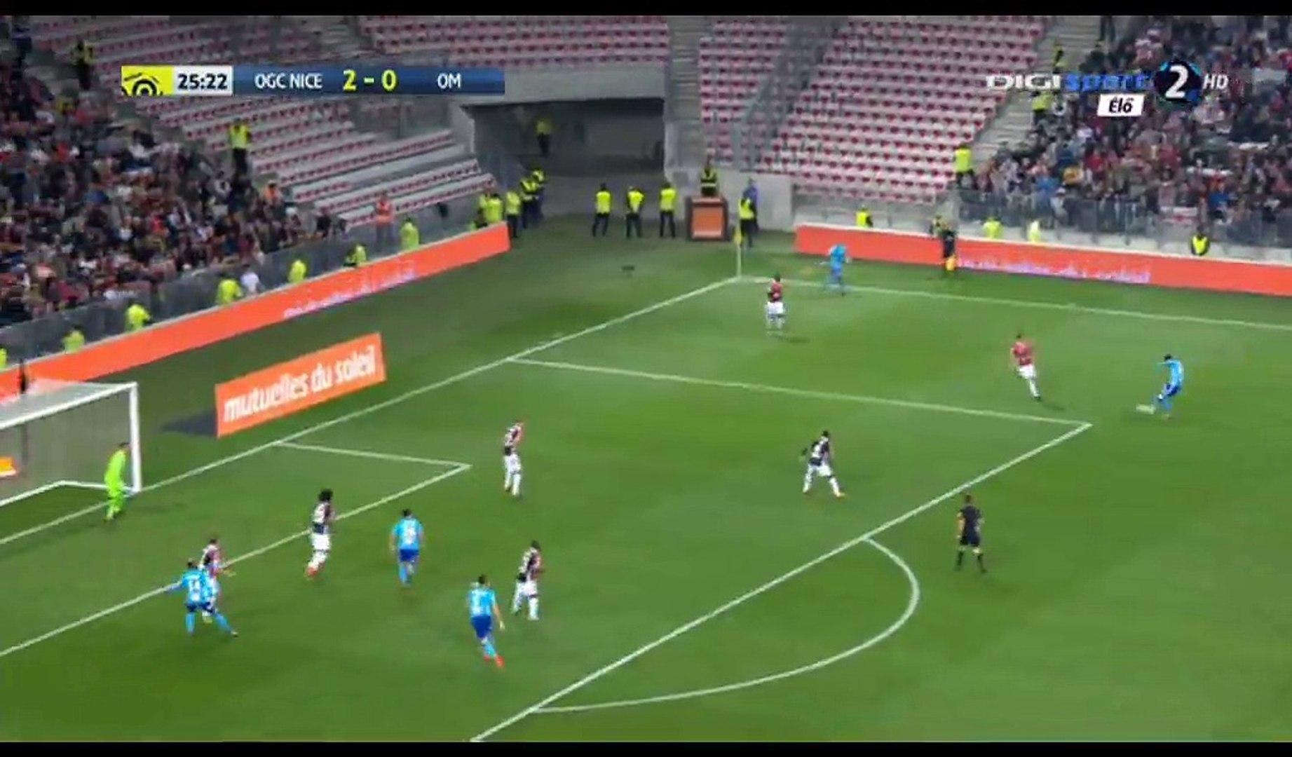 Lucas Ocampos Goal HD - Nice 2-1 Marseille - 01.10.2017