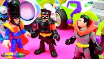 Imaginext Batman Superman at Super Villain EXPO with Doomsday and Red Hood PART 1 - Once Upon A Toy