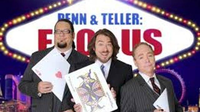 Penn & Teller: Fool Us S04E13 ~ Hanging Out with Penn & Teller