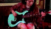 13 Year Old Girl Playing Eruption Solo - Van Halen - Warren Huart Produce Like a Pro