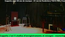 Studios d'enregistrement - Coppelia 5 studios professionnels