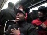 Concert sauvage dans le métro !