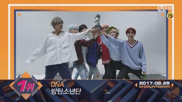 9월 마지막 주 1위 '방탄소년단'의 'DNA' 앵콜 무대! (Full ver.)