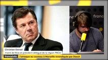 """Attentat de Marseille : nous devons être """"mieux accompagnés par nos Etats et par l'UE"""" Estrosi"""