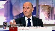 Le Commissaire européen Pierre Moscovici était l'invité d'Audrey Crespo-Mara sur LCI