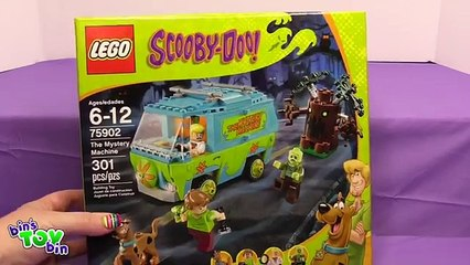Scooby Doo Mystery Machine Lego Set!! Fast Speed Completion and Review! Bins Toy Bin