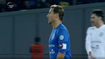 Le superbe but de Totti lors d'un match de charité