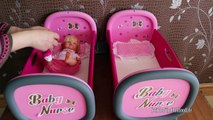 Nenuco Twins and Baby Doll Toys twins highchair twins bed twins pram