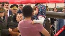 Şehit Yüzbaşı Mustafa Erdal son yolculuğuna uğurlandı