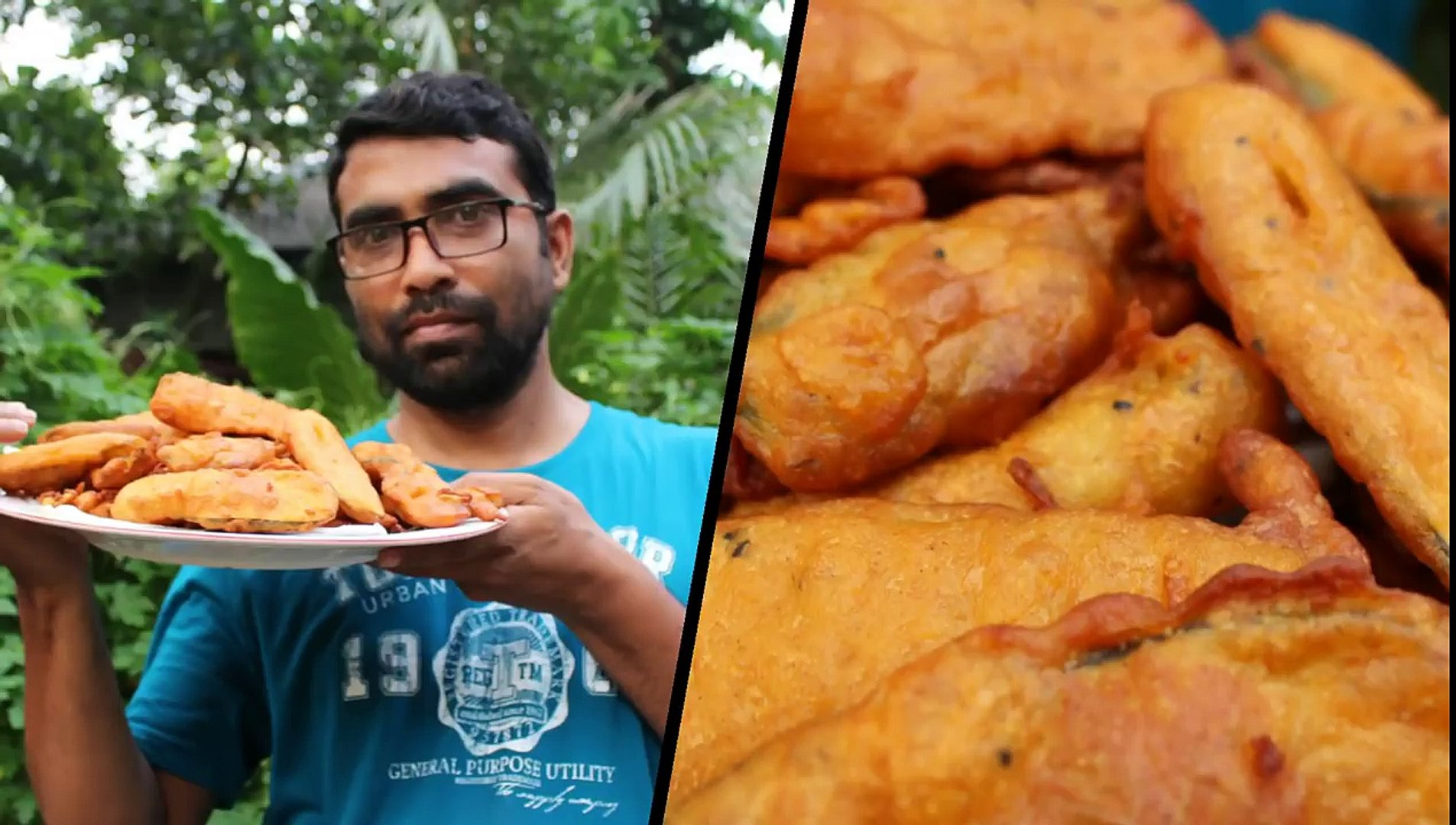 Village Food | Beguni recipe | Ramadan special recipes | Grandmother recipes-66