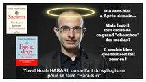 """Yuval Noah HARARI... HOMO DEUS l'infâme """"best-seller"""" planétaire des """"Temps nouveaux""""!... Lire descriptif (HD 720)"""