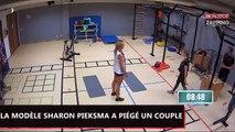 Une prof de fitness ultra sexy drague un homme et rend jalouse sa femme (vidéo)