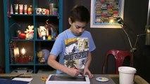 Vidéo mini atelier de Tiji : l'aquarium du Marsupilami