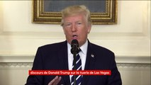 Las Végas : les drapeaux seront en berne aux Etats-Unis, annonce Donald Trump