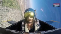 En plein reportage sur les pilotes de chasse, une journaliste fait un malaise (Vidéo)