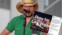 Jason Aldean Responds After Mass Shooting at His Vegas Concert Kills 50