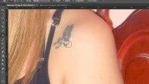 Photoshop - Retirando Manchas_ Pinta_ Tatuagem com ferramenta Correção