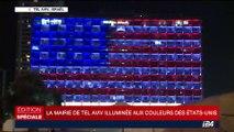 Fusillade de Las Vegas: la mairie de Tel Aviv s'illumine aux couleurs des États-Unis
