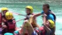 Rafting sport in Turkey ( рафтинг в Турции год ) Çılgın sularda RAFTİNG yaptık