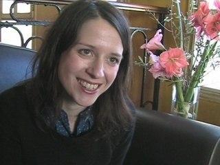 Nadia Micault - Interview à L'Autre Café, Paris