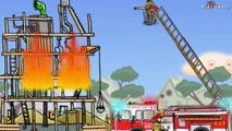 Fire Truck for Children | FIRE TRUCK FOR KIDS:Fire Engine Cartoon- Firefighters| Videos for Children