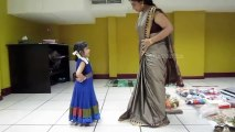 Mahesh Babu Daughter Sitara Dance Practice  Sitara Learning Classical Dance