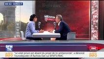Rachida Dati évoque le clash entre Christine Angot et Sandrine Rousseau
