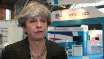 Theresa May defends decision not to sack Boris Johnson