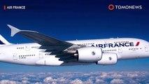 Mesin pesawat rusak di tengah penerbangan: Mesin Airbus hancur di tengah Atlantik  - TomoNews