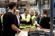 Déclaration du président de la République, Emmanuel Macron, devant l'entreprise Whirlpool à Amiens.