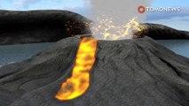 Evakuasi besar-besaran setelah gunung berapi Vanuatu erupsi, memuntahkan bom lava - TomoNews