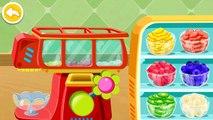 Baby Panda | Little Panda Summer Fun Making Ice Cream & Juices - Children Gameplay Video