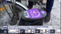 Velib': les premières stations ont commencé à fermer à Paris