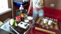 Маша+Алина / Готовим суши-роллы дома) Щепотка кулинара #2