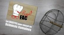 FUN-MOOC : Projet FAC :  les recettes pour réussir en Sciences Humaines