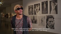 Museum of Modern Art | Jewellery in the eye of JoeyStarr as a part of Medusa, Jewellery and Taboos exhibition