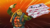 TMNT Legends PVP 147 (Michelangelo, Donatello Legend, MIchelangelo, Donatello The Movie)