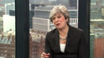 Theresa May shares Brexit 'optimism' with Boris Johnson