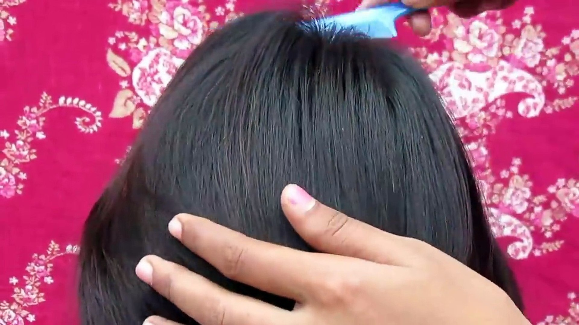 New Side Puff Hairstyle Every Day Hairstyle Video Dailymotion