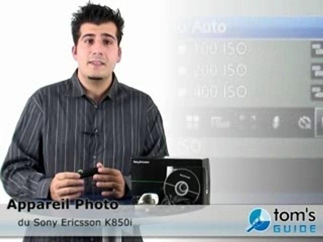 Sony ericsson k850i :: Presentation Appareil photo