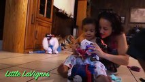LIGHT UP TALKING MINNIE MOUSE and TURBO FLIP THOMAS + Disney Cars Toys for kids! ~ Little LaVignes