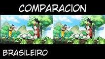 Dragon Ball Super Opening - Latino Vs Brasil  Comparación  Cartoon Network  Dragon Ball Super