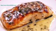 Seared Salmon With Lemon Butter Sauce - Pan Seared Salmon Recipe - Dishin With Di # 133