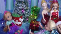 UNWRAPPING the CHRISTMAS Gifts! ELSA, ANNA toddlers open the Christmas presents! Cool toys!