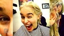 Emilia Clarke Goes Blonde! See the 'Game of Thrones' Star Channel Daenerys Targaryen in Real Life-retXd_Uxmw8