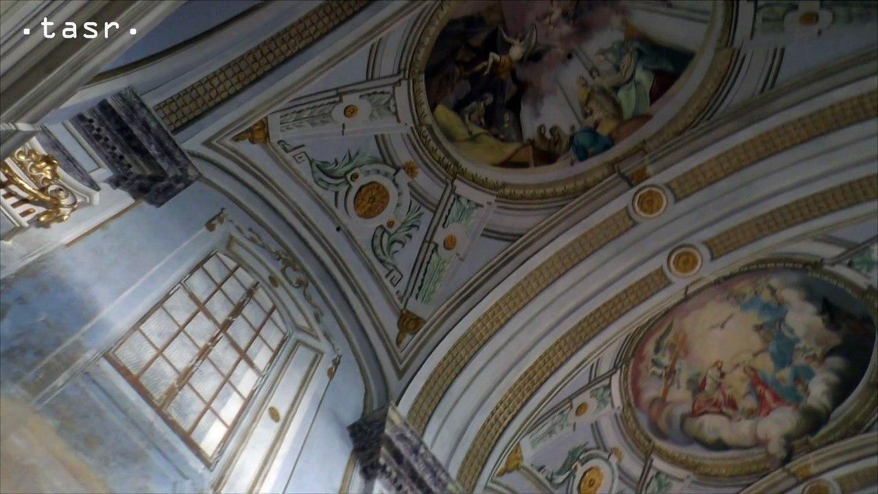 Na hrade Krásna Hôrka ukončili ďalšiu etapu obnovy fresiek v kaplnke