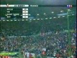 Football-France-Espagne, le but de Ribéry