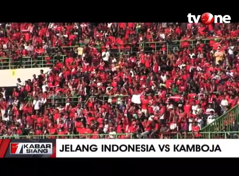 Timnas Indonesia Siap Kalahkan Kamboja