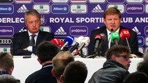 """""""A Anderlecht, je ne vais pas changer ma philosophie de coach"""""""